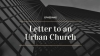 Letter to an Urban Church